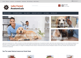 lakeforestanatomicals.com