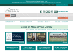 lakeforestlibrary.org