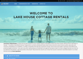 lakehousecottagerentals.com