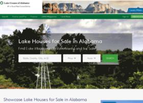 lakehousesofalabama.com