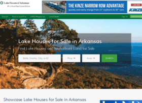 lakehousesofarkansas.com