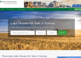 lakehousesofkansas.com