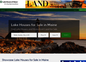 lakehousesofmaine.com