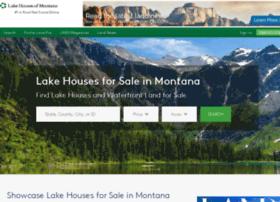 lakehousesofmontana.com
