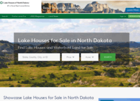 lakehousesofnorthdakota.com