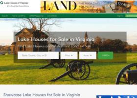 lakehousesofvirginia.com
