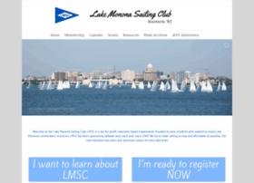 lakemononasailingclub.org