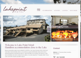 lakepointmotel.co.nz
