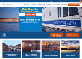 lakepowellhouseboating.com