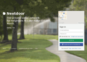 lakeridgeestatesnorth.nextdoor.com