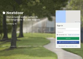 lakeroyale.nextdoor.com