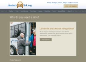 lakeshoreridelink.org