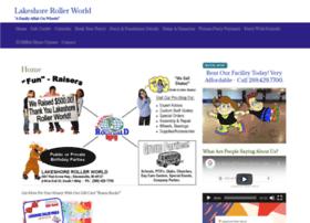 lakeshorerollerworld.com