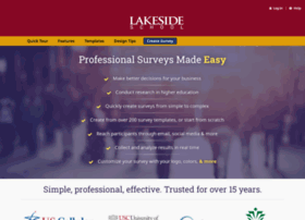 lakeside.surveyshare.com