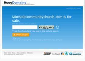 lakesidecommunitychurch.com