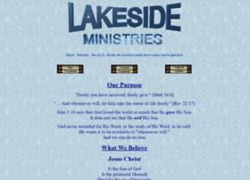 lakesideministries.com
