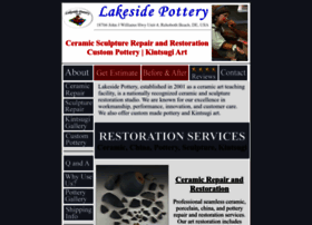 lakesidepottery.com