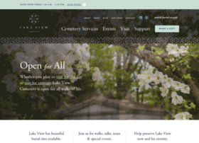 lakeviewcemetery.com