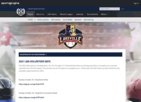 lakevillebaseball.org