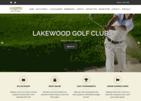 lakewoodgolf.com