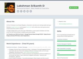 lakshmansrikanth.com