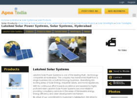 lakshmisolar-hyderabad.apnaindia.com