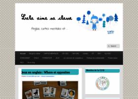 lalaaimesaclasse.fr