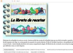 lalibretaderecetas.blogspot.com