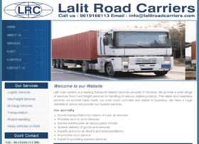 lalitroadcarriers.com