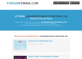 lamaisondesfemmes.forumfemina.com