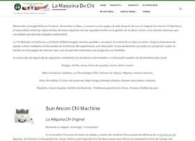 sun ancon chi machine instructions