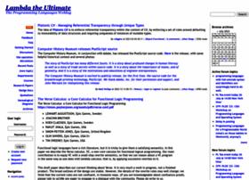 lambda-the-ultimate.org