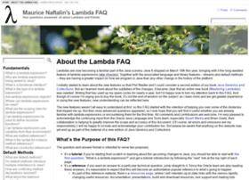 lambdafaq.org