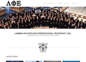 lambdaphiepsilon.com