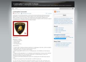 lamborghinicommander.wordpress.com