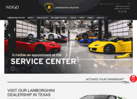 lamborghinihouston.com