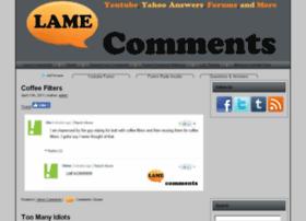 lamecomments.com