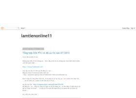 lamtienonline11.blogspot.in