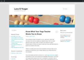 lanagyeager.edublogs.org