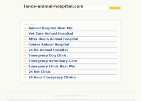 lance-animal-hospital.com