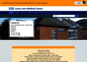 lancelanemedicalcentre.nhs.uk