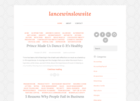 lancewinslowsite.wordpress.com