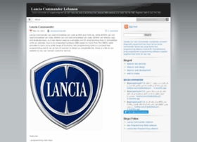 lanciacommander.wordpress.com