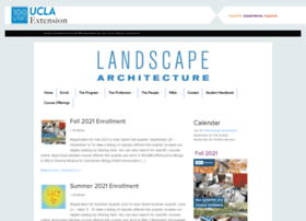 landarch.uclaextension.edu