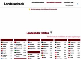 landekoder.dk