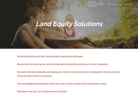 landequitysolutions.com