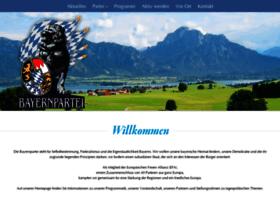 landesverband.bayernpartei.de
