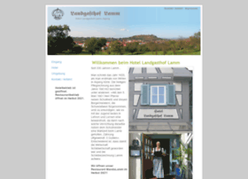 landgasthof-lamm.com