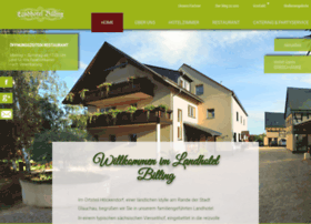 landhotel-billing.de