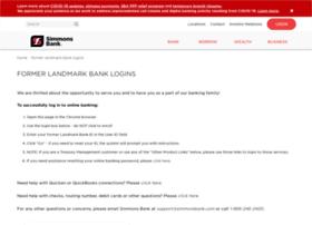 landmarkbank.com